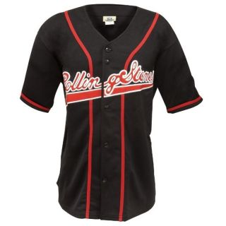 Rolling Stones   Tongue Baseball Jersey Music Band Shirt