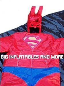 Commercial SUPER HERO SUMO SUITS bouncehouse/mo​onwalk