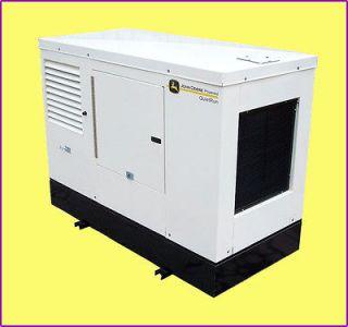 John Deere 100 kW Diesel Generator w/ Sound Enclosure