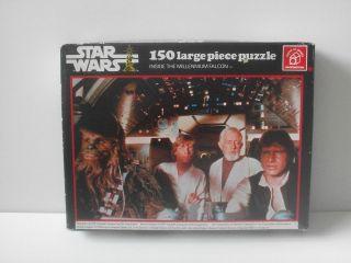 Star Wars Inside The Millenium Falcon 150 Piece Puzzle 1977