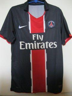 BNWT PSG PARIS SAINT ST GERMAIN HOME 2010/2011 FOOTBALL SOCCER JERSEY