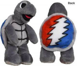 NEW GRATEFUL DEAD DANCING BEAR STEALIE TERRAPIN TURTLE PLUSH