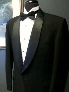 Shawl 1 button de la Renta Tuxedo Coat Jacket The Madrid (232 FP