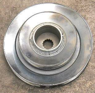 John Deere power flow deck pulley 48c 54c 62c high performance