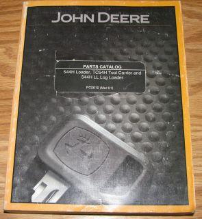 John Deere 544H Loader TC54H Tool Carrier 544H LL Log Loader Parts