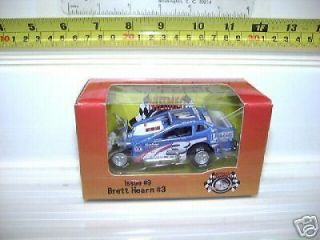 ERTL 2005 BRETT HEARN #3 DIRT MODIFIED RACE CAR MINT BX
