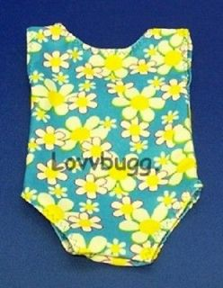 Yellow Flowers Swim Suit Doll fits American Girl BEST CLOTHES DISCOUNT