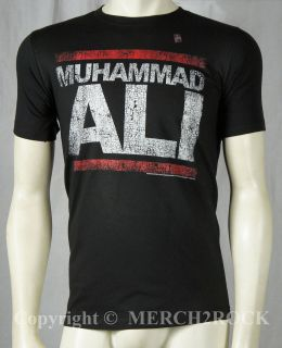 Authentic MUHAMMAD ALI Run Ali Boxing T Shirt S M L XL Licensed NEW