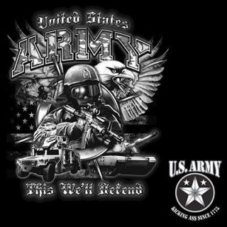 Shirt United States Army This Well Defend Kicking A** Since 1775