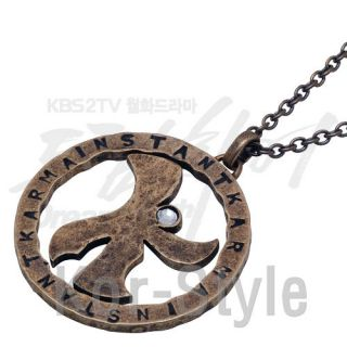 KBS drama Dream High Official K pendant Necklace Orignal Products
