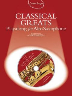 Classical Greats Playalong for Alto Sax 2006, CD Paperback