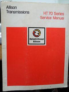 ALLISON TRANSMISSIONS HT70 MANUAL HT 70 AUTOMATIC MACK LEYLAND DAF
