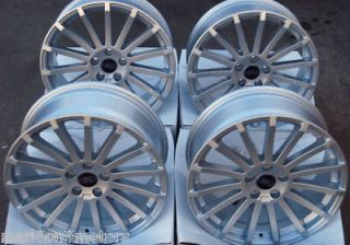 18 ST MULTI SPOKE ALLOY WHEELS FITS FORD FOCUS RS