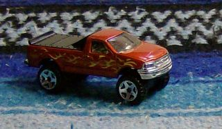 1997 FORD F 150 4 X 4 HOT WHEELS RAT ROD HOT ROD KUSTOM