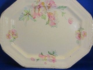 Vintage Edwin M Knowles China Vitreous Serving Platter