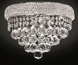 FLUSH 14inch Ceiling Hanging Pendant Crystal Chandelier Light LIGHTING