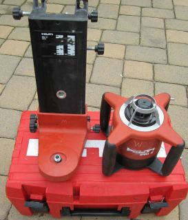 HILTI PRI 2 Rotating LASER  USED  ROTARY Laser LEVEL with CASE