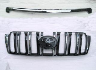 TOYOTA LAND CRUISER PRADO 150 FRONT CHROME BLACK GRILLE JDM VX GX