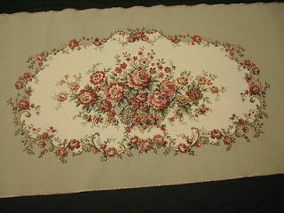 LOVESEAT SETTEE TAPESTRY (seat and arms) French Gobelin Fabric Panel