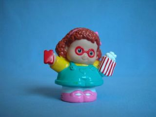 Fisher Price Little People Carnival Girl Maggie Popcorn