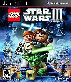 LEGO Star Wars III The Clone Wars (Sony Playstation 3, 2011)