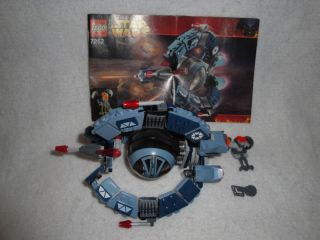LEGO Star Wars 7252 Droid Tri Fighter 100% Complete