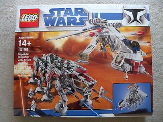 LEGO Star Wars   Super Rare DropShip With AT OT 10195   New & Sealed