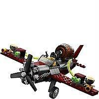 LEGO Monster Fighters (9467) AIRPLANE & Frank Rock Figure Loose Mint