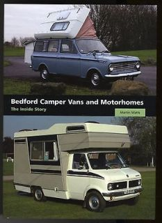 BEDFORD CAMPER VANS AND MOTORHOMES British RV History, Interiors