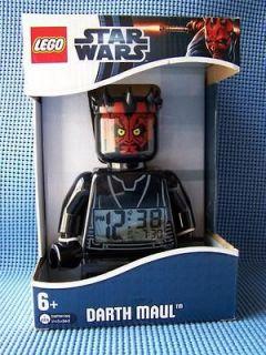 Lego Star Wars Lego Big Size Mini Figure Darth Maul Alarm Clock