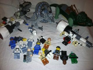 Lego Star Wars Episode 3 Lot Of Lego Parts Sets Minifigs Mini