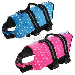 XL Size Pet Dog Saver Life Jacket Life vest Floatation Device Swimming