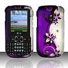 Purple Vines LG 500g Rubber Coating Hard Case Cover TracFone