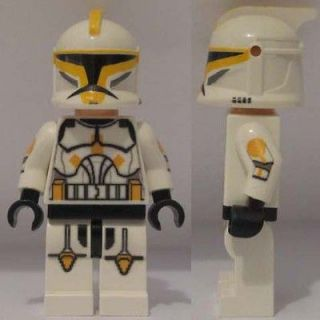 Lego Star Wars CUSTOM Clone Trooper jet commander minifig army 8014