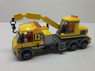 LEGO City, Custom Crane Truck, One Of A Kind   Rare L@@K, LEGO