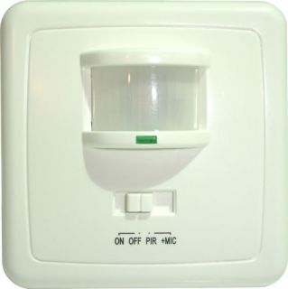 PIR Motion Sensor & Sound Activated Light Switch ST01