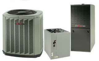 Trane 13.5 SEER R 410A 80% AFUE 40,000 BTU Gas Furnace Split System