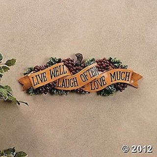 live laugh love in Plaques & Signs