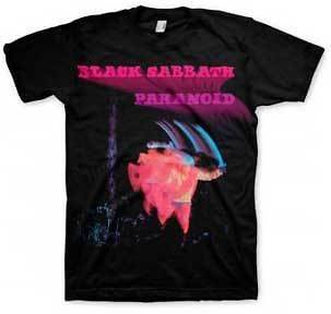 BLACK SABBATH Paranoid S M L XL XXL tee t Shirt NEW rock band metal