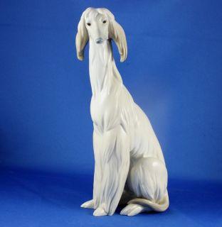 Lladro Afghan Hound Dog Porcelain Figurine 1069 Juan Huerta Retired