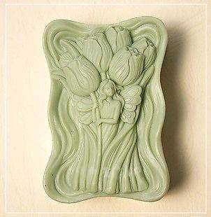1pc Flower Sea Silicone Soap mold Craft Molds DIY Handmade soap 50333