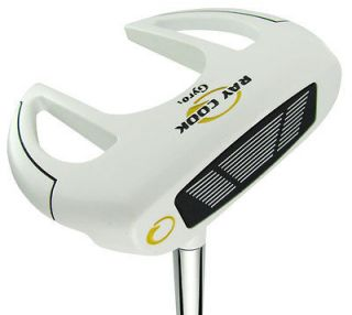 New Ray Cook Golf 2012 Gyro 1 White Putter 34