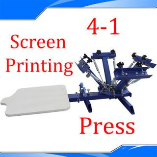 Silk Screen Printing Machine Press Equipment Screen T shirt Printers