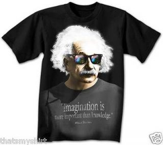 New Albert Einstein Imagination Is More Important Than Knowleddge