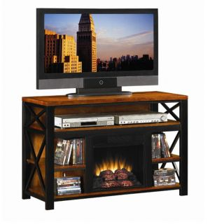Electric Infrared Quartz Fireplace Heater Media Entertainment TV Stand