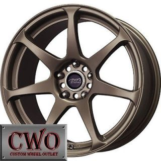 17 Bronze MB Battle Wheels Rims 5x114.3 5 Lug Jeep Wrangler Explorer