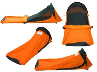 MSRP  $289 ONE MAN SINGLE POLE BIVY TENT   WATERPROOF