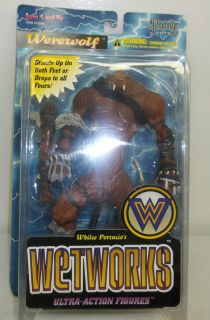McFarlane Toys Whilce Portacios Wetworks Werewolf Ultra Action Figure