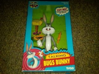 1993 Looney Tunes Tyco Talking Bugs Bunny Doll NEW IN BOX