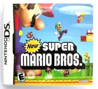 GIFTNDS DSi/DSL XL LITE 3DS DS Play GAME CARDNew Super Mario Bros